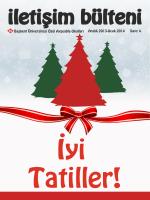 4 Aralık 2013-Ocak 2014 Başkent Üniversitesi Özel Ayşeabla Okulları