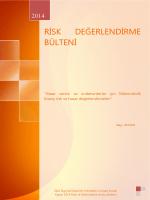 Kasım 2014 Risk ve Mühendislik Grubu - Solvent