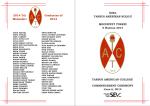 2014 Yılı Mezunları Graduates of 2014