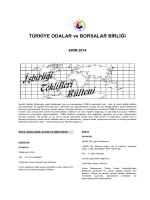 2014 Ekim (pdf-273 Kb) - Dünyadan İşbirliği Teklifleri