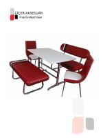 ÜÇER AKSESUAR - Üçer Masa Sandalye