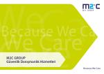 M2C Group Güvenlik Danışmanlık Hizmetleri