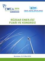 EWEA 2014 Barselona Raporu