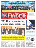 Gazete 63 - Denizli Ticaret Odası