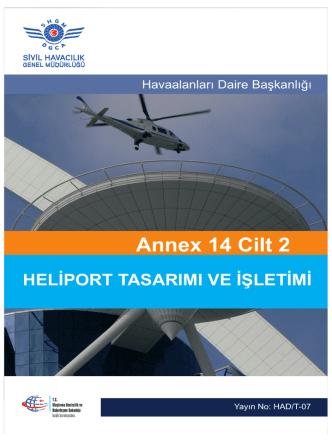 Annex 14 Cilt 2 - Sivil Havacılık Genel Müdürlüğü