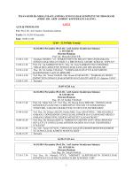 sempozyum programı - Zonguldak Sempozyumu