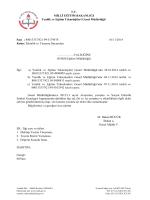 Etkinlik ve Yarışma Duyuruları - Aksaray Milli Eğitim Müdürlüğü