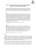 Alcu4ti Alaşımın Farklı Döküm Sıcaklıklarında Döküm Kalitesi İle