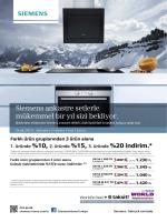 Siemens ankastre ürünlerdeki fırsatlar için fiyat kataloğuna mutlaka
