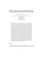 Bilgisayar Ağları Dersi İçin Geliştirilen Mobil Öğrenme Sisteminin