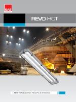 REVO HOT (Sıcak Ortam Yüksek Tavan Armatürleri)
