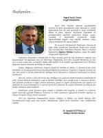 Melikgazi Belediye Başkanlığı Performans Programı