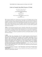 Geniş Açı Taramalı Anten Dizisi Tasarım ve Üretimi