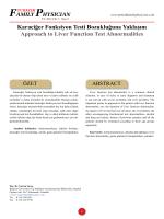 Karaciğer Fonksiyon Testi Bozukluğuna Yaklaşım Approach to Liver