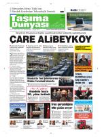 Taşıma Dünyası Gazetesi-158 PDF 13 Ekim 2014 tarihli sayısını