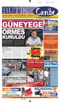 13 Ağustos 2014 - Güney Ege Gazetesi