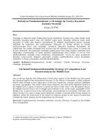 Tam Metin (PDF) - Karatekin Üniversitesi Sosyal Bilimler Enstitüsü