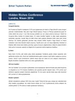 Şirket Toplantı Notları