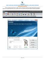 menZ10 - kelebek sistemi sınav hazırlama programı