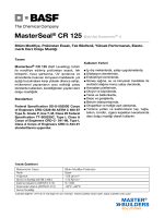 MasterSeal® CR 125 (Eski Adı Sonomeric® 1) Bitüm