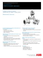 AquaMaster3 Elektromanyetik debimetre