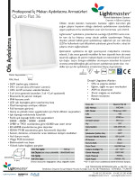 Teknik Data / Quatro Flat 36