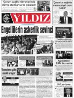 28 Haziran 2014 Cumartesi Corum Hakimiyet Gazetesi