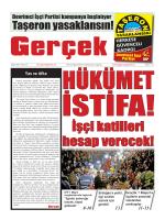 Gerçek Gazetesi Sayı 55 İndir (PDF)