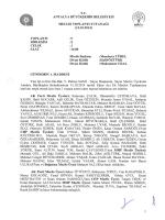 13.10.2014 Tarihli Meclis Toplantı Tutanağı
