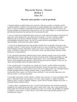 Mucizeler Kursu - Dersler Bölüm I Ders 92