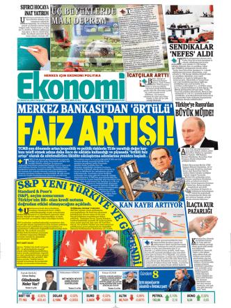 14 ağustos 2014 - Ekonomi Gazetesi