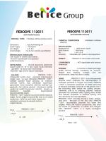 PERODYS 112011 - Belice Kimya
