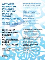 violence et civilité - Exil, création philosophique et politique