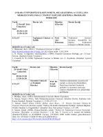 KASAUM Toplumsal Cinsiyet Eşitliği Sertifika Programı, 22 MART
