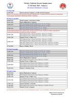 Yıldızlar Müsabaka Programı - Türkiye Karate Federasyonu