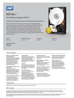 WD Re+ Datacenter Marketing Spec Sheet
