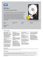 WD Re+ Datacenter Marketing Spec Sheet