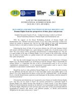 law on the bosphorus iii international summer school 2015 20-30