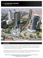 E-Brochure... - Wyndham Grand İstanbul Levent