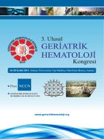 Untitled - Geriatrik Hematoloji Derneği