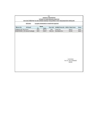 2014-2015 my yatay geçiş sonuçları
