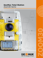 GeoMax Total Station Zoom30 Serisi