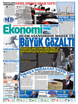 10 eylül 2014 - Ekonomi Gazetesi