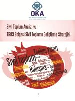 Sivil Toplum Stratejisi - Orta Karadeniz Kalkınma Ajansı