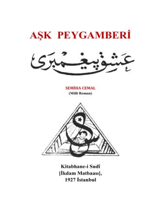 AŞK PEYGAMBERİ - WordPress.com