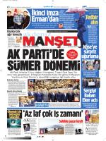 Tedbir alın - Akdeniz Manşet