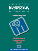 TMH 483. sayı (4075 KB) - İnşaat Mühendisleri Odası