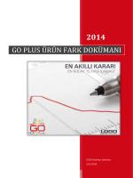 GO PLUS ÜRÜN FARK DOKÜMANI - Logo