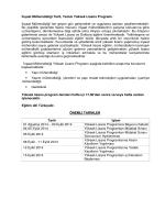 İnşaat Mühendisliği Tezli, Tezsiz Yüksek Lisans Programı İnşaat