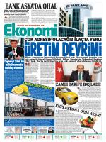 08 eylül 2014 - Ekonomi Gazetesi